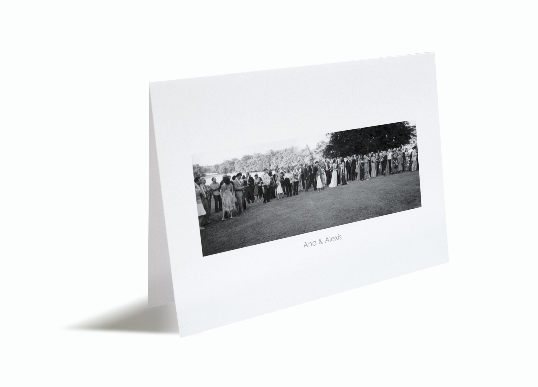Photo Personalised Card